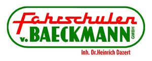 Fahrschulen von Baeckmann Logo