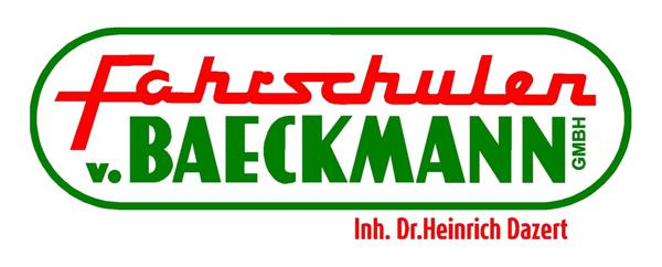 Fahrschulen von Baeckmann Retina Logo